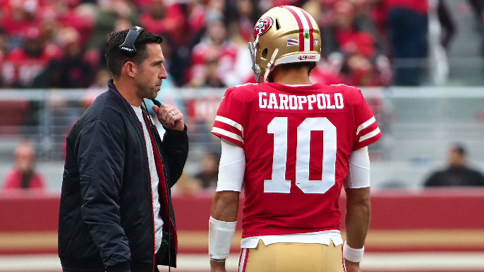 Shanahan and Garoppolo respond to high expectations entering 2018