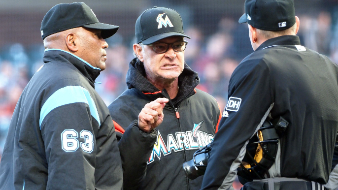 Krukow says he'll apologize to Don Mattingly after incorrectly reporting that Marlins manager told Posey 'you're next'