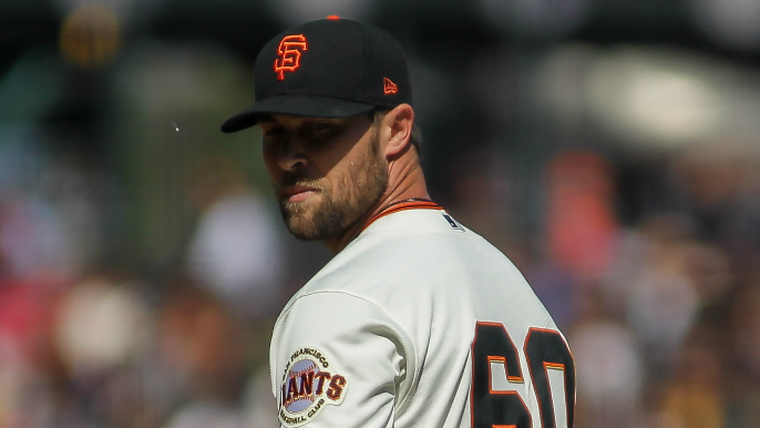Jeremy Affeldt offers advice to Hunter Strickland on what he should do over next eight weeks