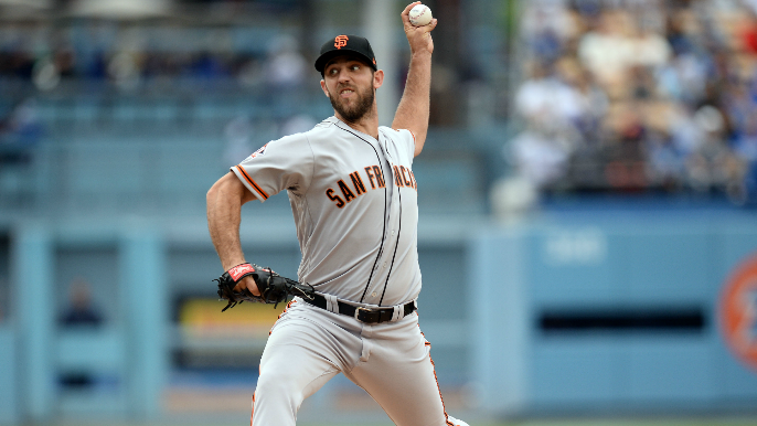 Giants win third straight behind Madison Bumgarner's dominant outing