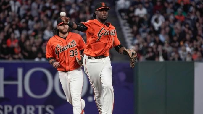 Giants' late comeback bid fails as Padres even series