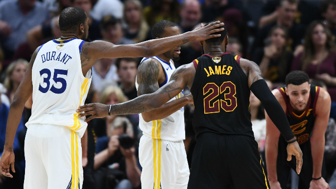 a8084d52cf05 LeBron James has reached out to Kevin Durant about joining him in LA   report