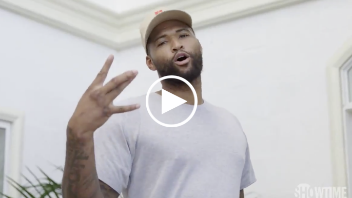 Watch the moment DeMarcus Cousins finds out he's a Warrior