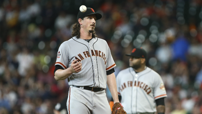 Giants have let Yankees know Jeff Samardzija is available [report]