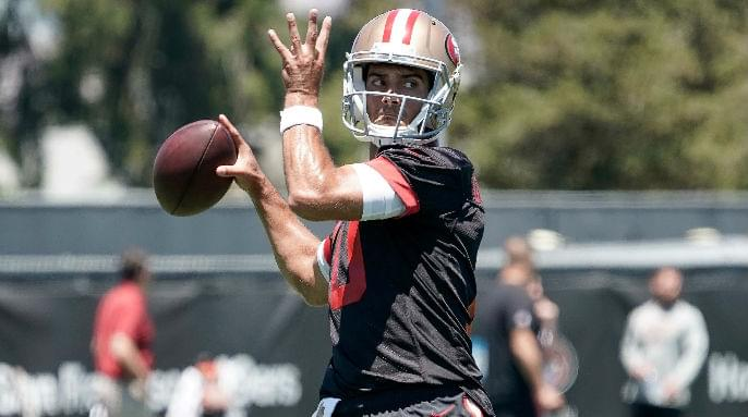 Peter King: Jimmy Garoppolo is the 'most compelling story in the NFL this year'