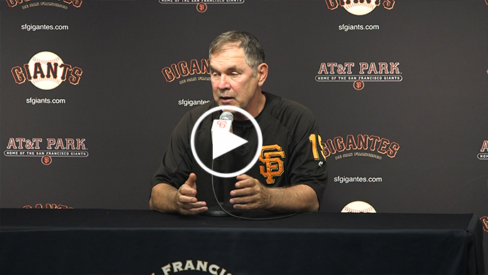 Bochy gives keys to Giants' second half
