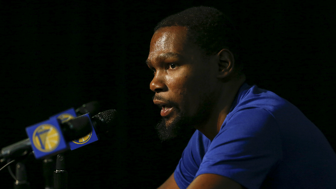 Will Kevin Durant be a member of the Warriors next season?