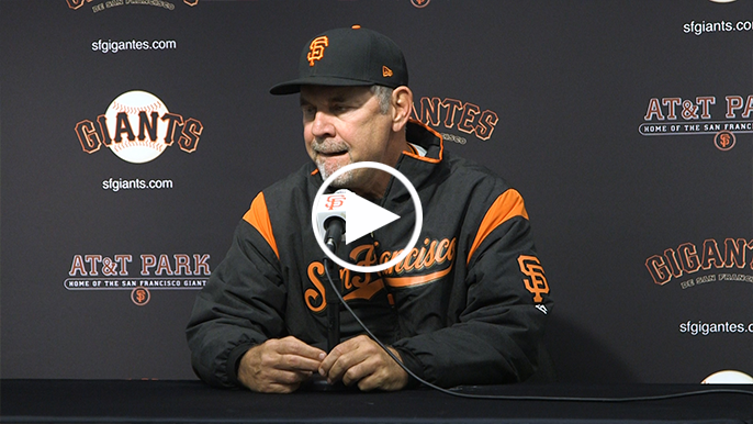 Bochy defends Melancon, Pence after rough outing for veterans