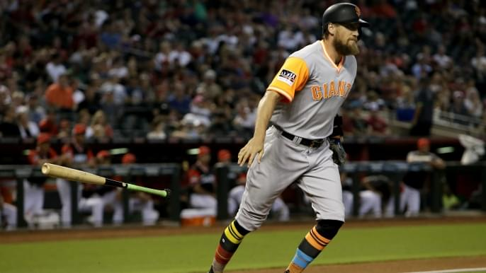 Pence, Holland highlight Giants' jersey nicknames for 2018 MLB Players' Weekend