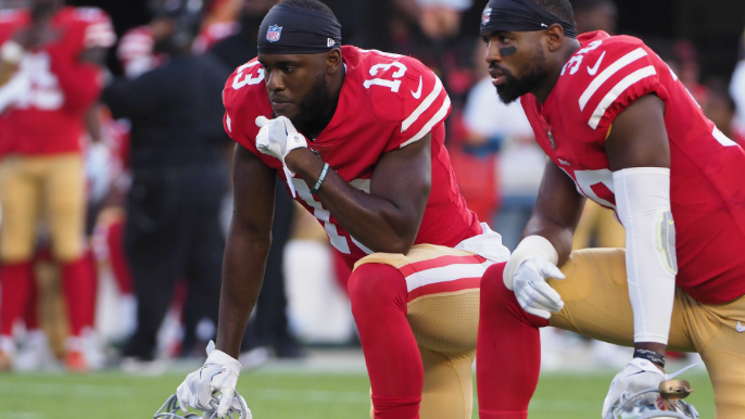 Shanahan provides updates on 49ers injuries in first preseason game