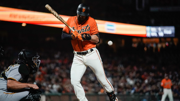 Longoria, Bochy talk hit-by-pitch incident, offensive firepower after 23-run game