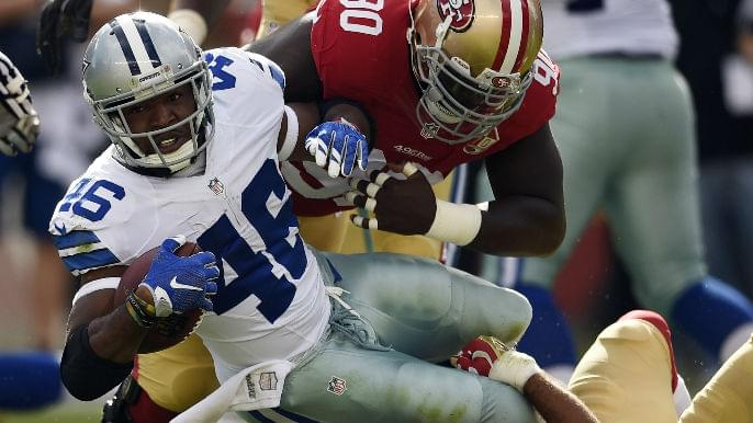 49ers to sign running back Alfred Morris