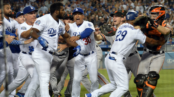 The Mid-Inning Relief Podcast: Puig vs. Hundley – Dumb fight or that's baseball?