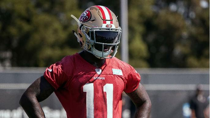 Kyle Shanahan identifies turning point in Marquise Goodwin's 2017 season