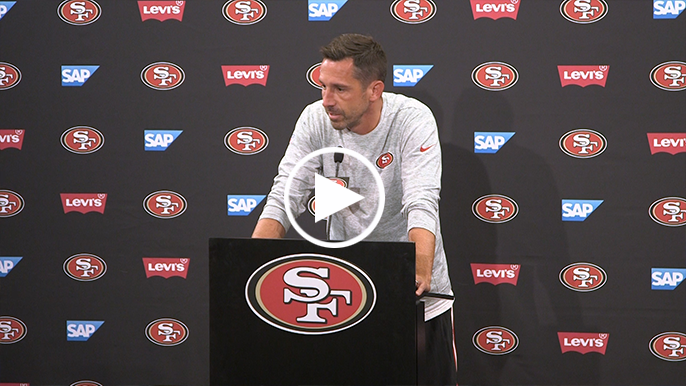 Kyle Shanahan is open to re-signing Eric Reid in a backup role