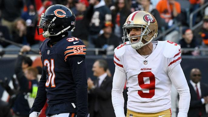Catching up with Robbie Gould, the 49ers' unsung star who wants to 'literally embarrass you'