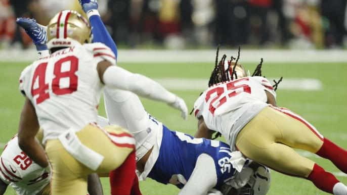 49ers make late push, fall short in preseason loss to Colts