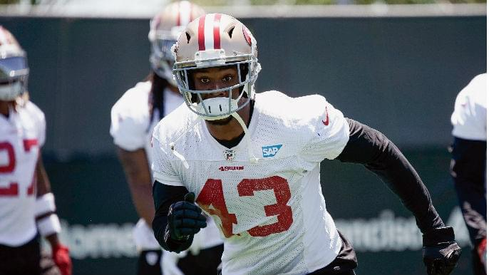 49ers sign rookie running back, waive Chanceller James