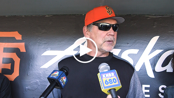 Bochy gives update on Buster Posey's hip surgery