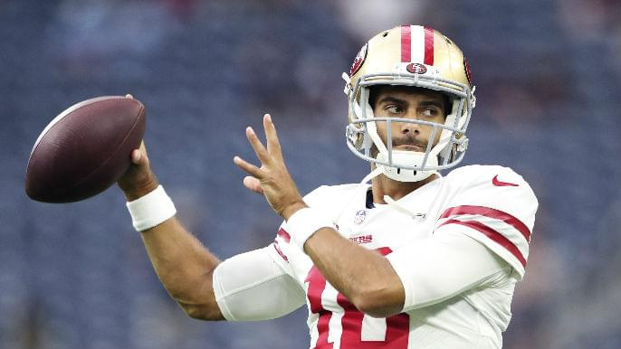 Vegas sportsbook releases team, player betting odds for 49ers