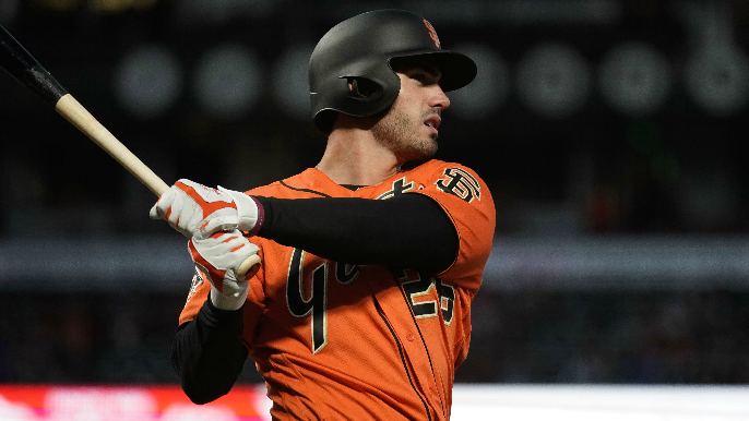 Bochy discusses his advice for Chris Shaw after 1-for-22 start to MLB career