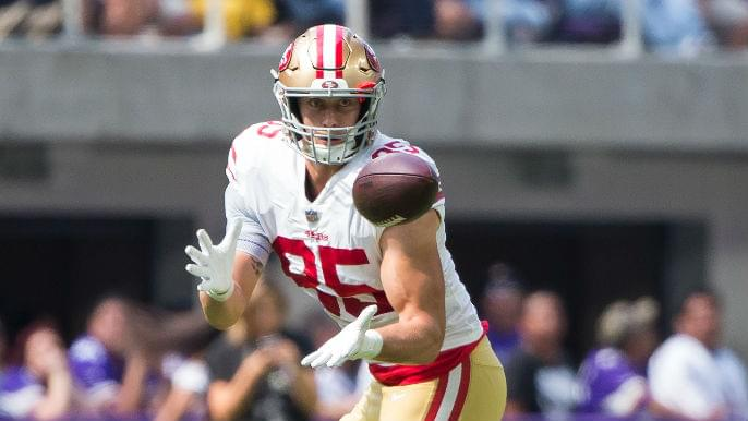 George Kittle's prolific season debut a sign of expanding role