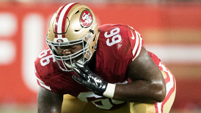 Shanahan sheds light on right guard situation for Week 2 vs. Lions