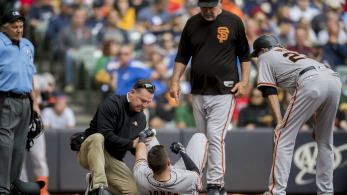 Bad knees and torn tendons: How injuries have shaped the Giants' season