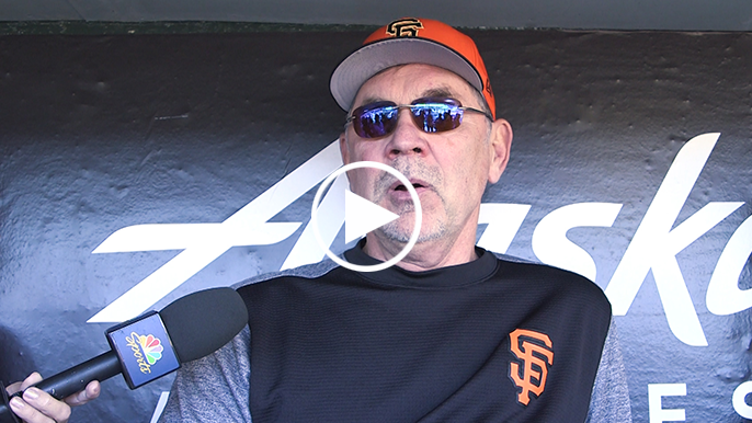 Bochy to continue to push rookie pitchers as season winds down