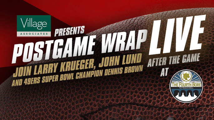 September 23rd: Live Red & Gold Wrap at The Fourth Bore