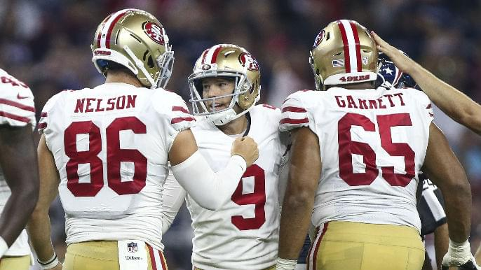 Robbie Gould wins NFC Special Teams Player of the Week after breaking franchise record