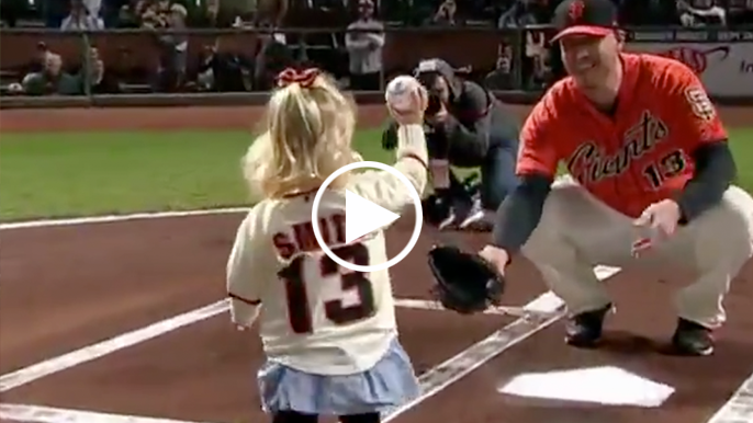 Willie Mac winner Will Smith breaks down adorable first pitch from niece