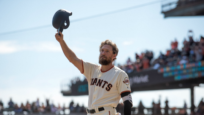 Rangers sign Hunter Pence to minor-league deal [report]