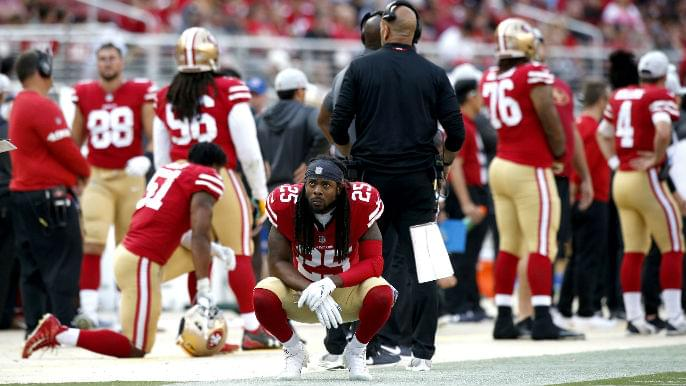 49ers locker room knows time is running out after frustrating loss