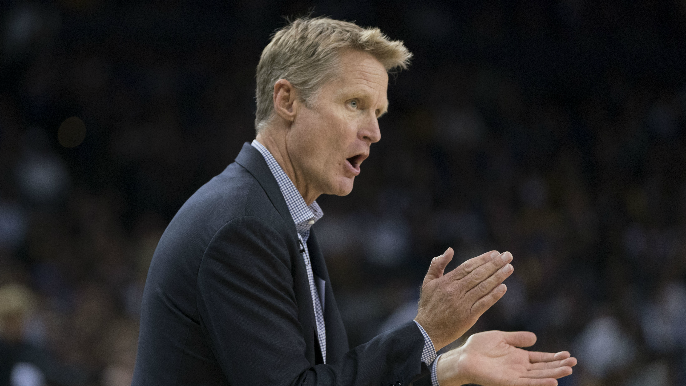 Steve Kerr on KNBR: This season has 'different vibe, different feeling'
