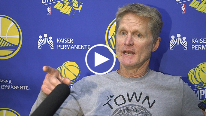 Kerr says Cousins will travel with team, provides injury update