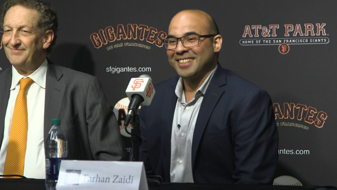 Farhan Zaidi gives take on prospect of rebuild, trading Madison Bumgarner