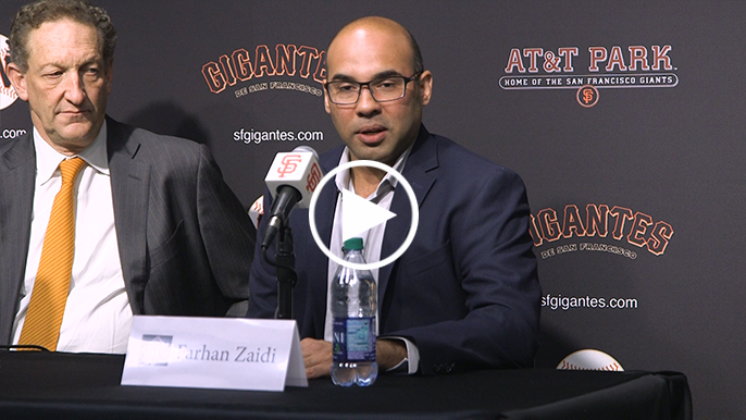 Zaidi gives his evaluation of current Giants roster