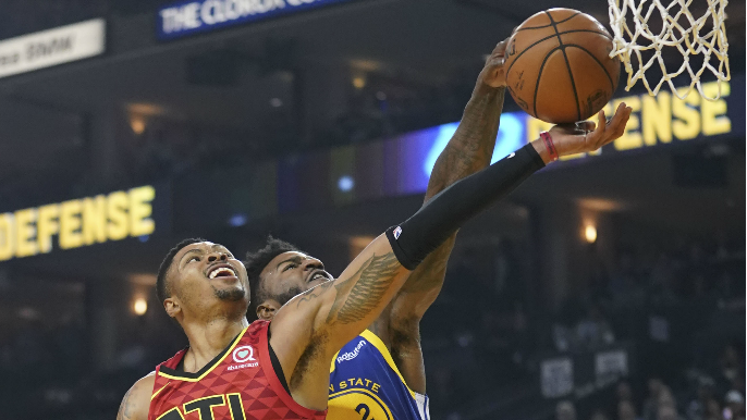 Three takeaways from Warriors' underwhelming win over Hawks