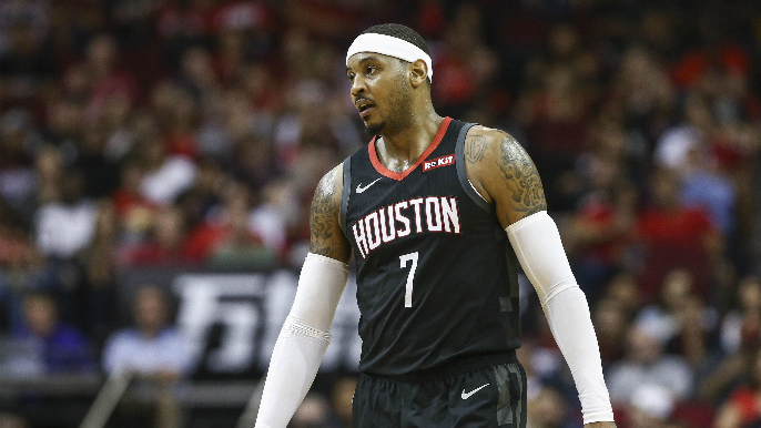 Carmelo Anthony to part ways with Rockets