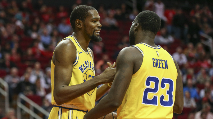 Five observations as Warriors' offense falls asleep in loss to Rockets