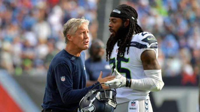 Pete Carroll reflects on 'frustrations, victories' in seven years with Richard Sherman