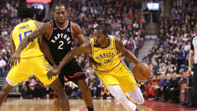 Three notes after Durant has MVP night in overtime loss to Raptors