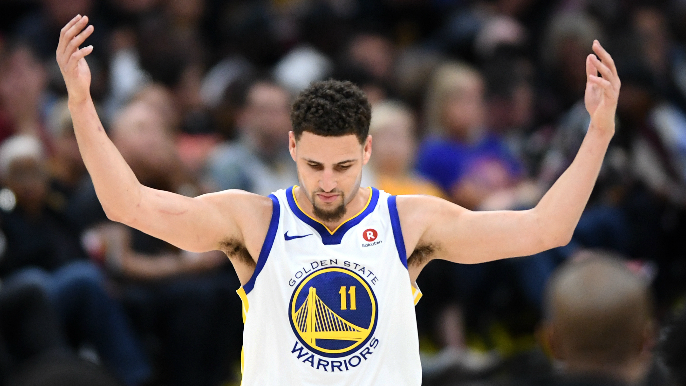 Klay Thompson calls Cavs 'bums, idiots,' for 2016 Halloween party