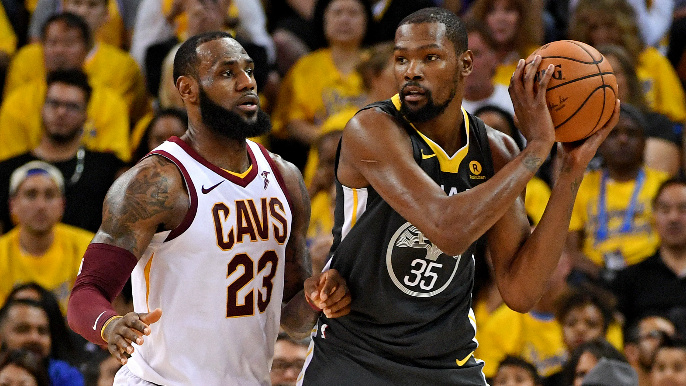Kevin Durant explains why environment around LeBron is 'toxic' [report]