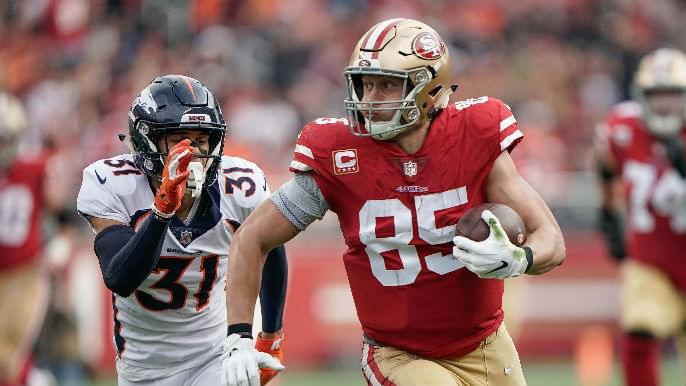George Kittle's historic performance cements status as top-tier tight end