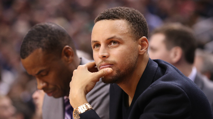 Stephen Curry doesn't believe we've landed on the moon