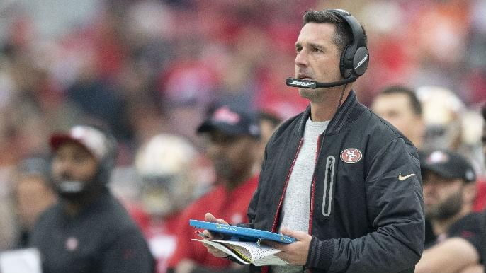 Shanahan discusses failed attempt to get Kittle yardage record in Sunday's win