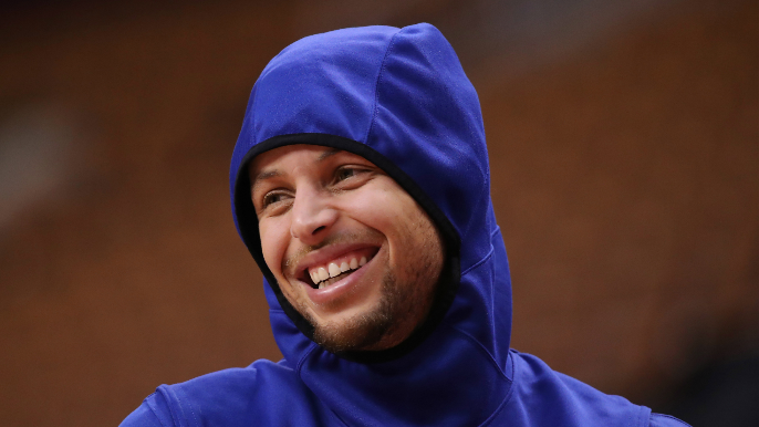 Curry on moon landing comments: 'Obviously I was joking'