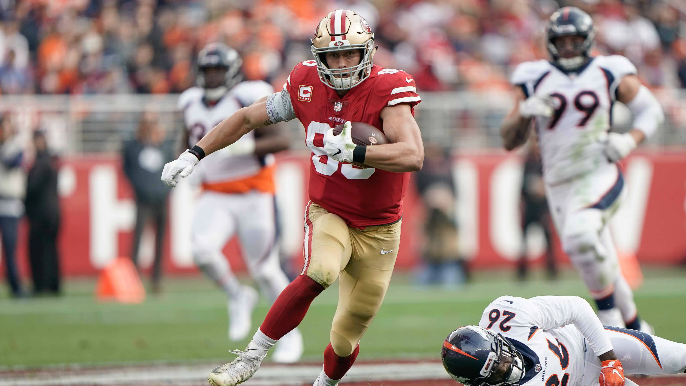 Adam Schefter says he will publicly thank George Kittle if he helps him win fantasy matchup